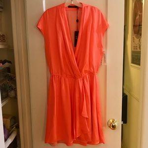 Vertigo Neon Orange Dress